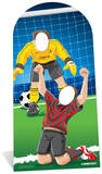 World Football Event Stand In Cardboard Cutouts