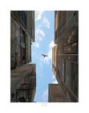 Afternoon Alley Affiches par Cynthia Decker