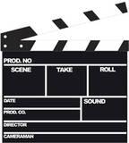 Flim Clapper Cardboard Cutouts