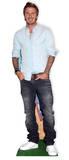 David Beckham Silhouettes découpées en carton