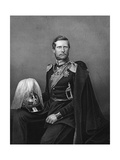 Engraved Portrait of Prince Frederick William of Prussia Giclee Print by D.j. Pound