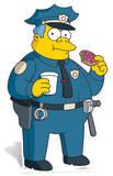 Police Chief Wiggam Kartonnen poppen