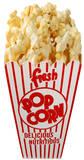 Pop-corn Silhouettes découpées en carton