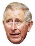 Prince Charles Face Mask Maske