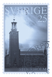 Retro Stamp VI Giclee Print by  The Vintage Collection