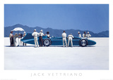 Bluebird at Bonneville Posters by Jack Vettriano