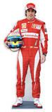Fernando Alonso Silhouettes découpées grandeur nature