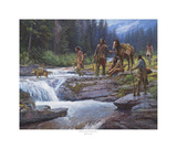 Passage at Falling Water Prints by Martin Grelle