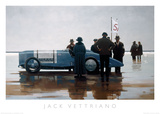 Pendine Beach Art by Jack Vettriano
