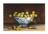 Bowl of Greengages Posters by Mimi Roberts