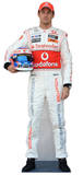 Jenson Button Silhouette en carton