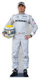 Nico Rosberg Pappfigurer