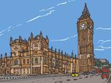 Big Ben Giclee Print by James Hobbs