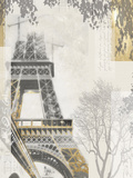 Eiffel Tower Giclee Print by Ben James