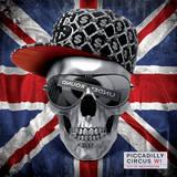 Blonde Attitude - Skull Union Jack - Poster