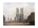 Westminster Abbey, London Giclee Print by Fred E.J. Goff