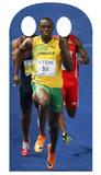 Bolt Stand-In Silhouettes découpées en carton