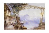 A View of Lake Como Giclee Print by Edward M. Richardson