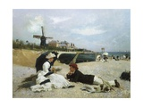A Day by the Sea Giclee Print by Alexander M. Rossi