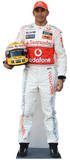 Lewis Hamilton Silhouette en carton