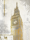 Big Ben Giclee Print by Ben James