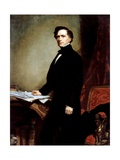 Franklin Pierce Giclee Print by George P.A. Healy