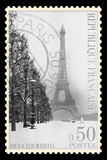 Stamp Collection II Giclee Print by  The Vintage Collection