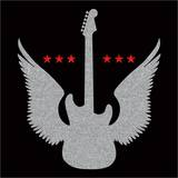 Angel Guitar Prints by  Blonde Attitude