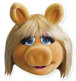 Miss Piggy Face Mask Maske