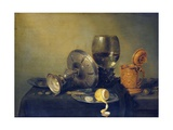 Still Life Giclee Print by Willem Claesz. Heda