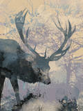 Deerhood III Posters by Ken Hurd