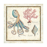 Oceanography I Premium Giclee Print by Daphne Brissonnet