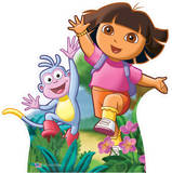 Dora the explorer and Boots Cardboard Cutouts