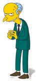 Mr Burns Silhouette en carton