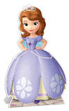 Sofia the first - Disney Princess Postacie z kartonu