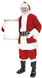 Santa with Small sign Silhouette en carton