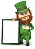 St Patrick's Day Sign Cardboard Cutouts
