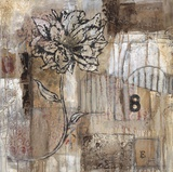 Earth & Petals Art by  Jean