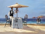 On the Beach Poster by Brent Heighton