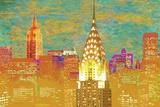 Vibrant City 2 Prints by Christopher James