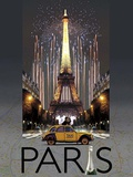 Paris Kiss Posters by  Big Island Studios
