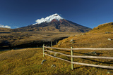 Cotopaxi National Park, Snow-Capped Cotopaxi Volcano Fotodruck von John Coletti
