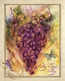 Valley Vines 3 Poster by Patricia Haberler