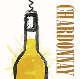 Artist Series Wine 1 Poster by Evangeline Taylor