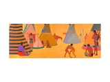 Kiowas Camp Site Prints by Stephen Mopope
