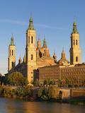 Spain, Aragon Region, Zaragoza, Basilica Del Pilar Photographic Print by Shaun Egan