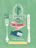 Key to Happiness Posters by Bella Dos Santos