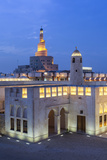 Qatar, Doha, the Spiral Mosque of the Kassem Darwish Fakhroo Islamic Centre in Doha Photographic Print by Gavin Hellier