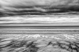 Bamburgh Beach at Low Tide, Northumberland, Uk Photographic Print by Nadia Isakova