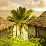 Hilton Northolme Resort, Mahe, Seychelles Photographic Print by Jon Arnold